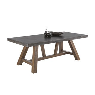 Sunpan 'MIXT' Cooper Acacia Wood Dining Table
