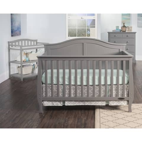 Child Craft Camden 4-in-1 Lifetime Convertible Crib, Cool Gray