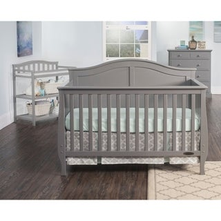 Link to Child Craft Camden 4-in-1 Lifetime Convertible Crib, Cool Gray Similar Items in Kids' & Toddler Furniture