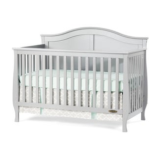Child Craft Camden 4-in-1 Lifetime Convertible Crib, Gray