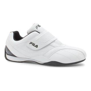 Men's Fila Mach T Slip On White/Black/Metallic Silver (More options available)