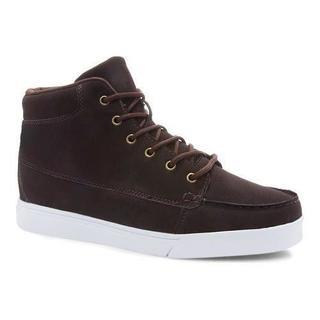Men's Fila Montano High Top Sneaker Espresso/White
