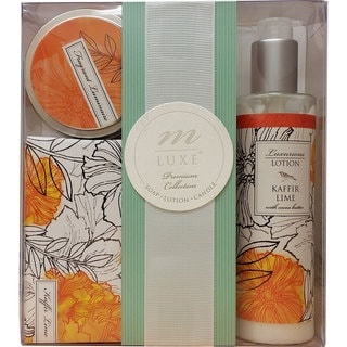 Mudlark Chloe Kaffir Lime Premium Bath Collection