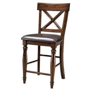 Kingston Raisin X-Back Barstool-set of 2