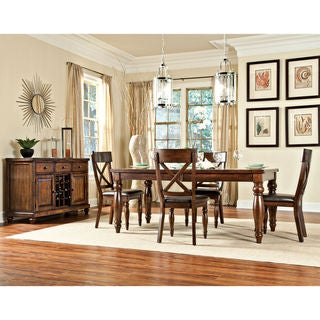 Link to Kingston Raisin 42x72-90 Butterfly Dinette Table - Brown Similar Items in Dining Room & Bar Furniture