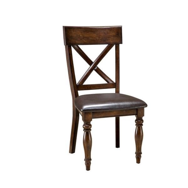 Kingston Raisin X Back Dining Chair Set Of 2