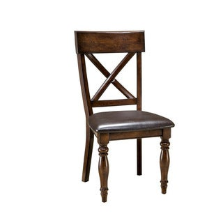 Kingston Raisin X-Back Dining Chair-set of 2