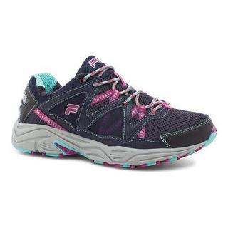 Women's Fila Vitality V Running Shoe Fila Navy/Aruba Blue/Fuchsia Red (More options available)