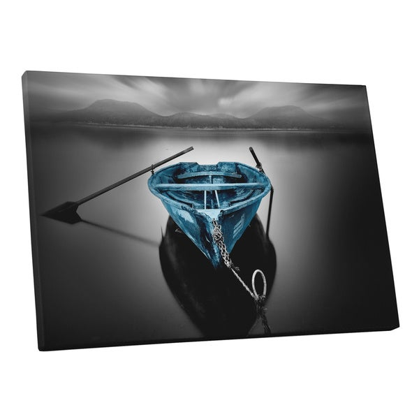 Moises Levy Bote Fugado Dark Pop Gallery Wrapped Canvas Wall Art