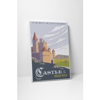 Steve Thomas 'Castle of the Wicked Witch' Gallery Wrapped Canvas Wall Art