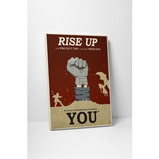 Steve Thomas 'Rise Up' Gallery Wrapped Canvas Wall Art