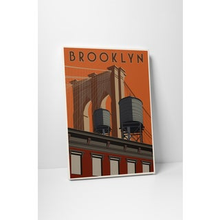 Steve Thomas 'Brooklyn' Gallery Wrapped Canvas Wall Art