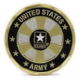 US Army Star Wheel Coin