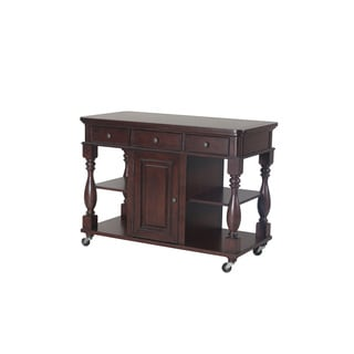 Powell Durham Cherry Kitchen Island