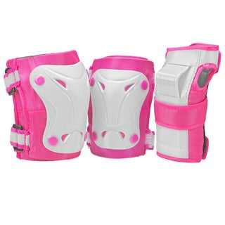 Boneshieldz Cruiser 3000 Tripack Pink/Grey Protective Gear