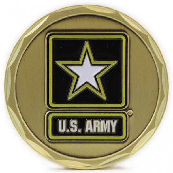 US Army Seal and Logo Coin