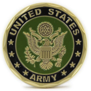 US Army Seal Defending Freedom Coin