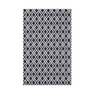 Rope Rigging Geometric Throw Blanket