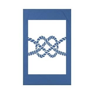 Nautical Knot Geometric Print Throw Blanket