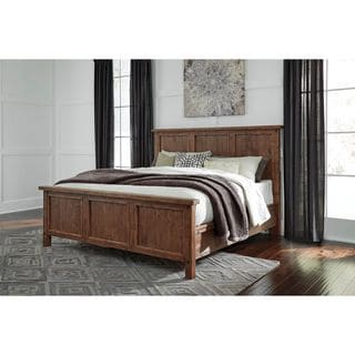 Signature Design by Ashley Tamilo Gray/Brown Panel Bed
