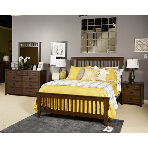 Shop Signature Design by Ashley Strenton Brown 3-piece Bedroom Set ...
