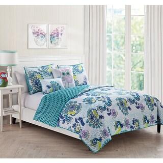 VCNY Samantha 5-piece Quilt Set