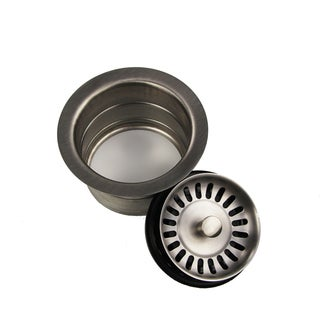 Highpoint Collection Brushed Stainless Finished Disposal Drain