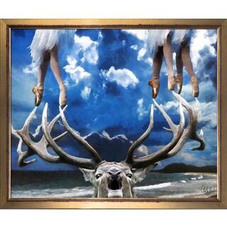 Celito Medeiros 'On Point' Framed Fine Art Print