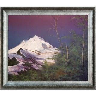 Jerry Sauls 'Mountain Pass' Framed Fine Art Print