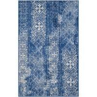 Safavieh Adirondack Vintage Boho Silver/ Blue Rug - 2'6 x 4'