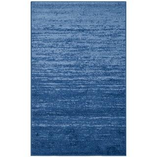 Safavieh Adirondack Modern Light Blue/ Dark Blue Rug (2'6 x 4')