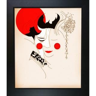 Ofir Sasson 'JPN 214' Framed Fine Art Print