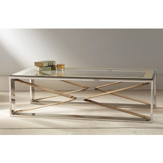 Wellington Tan Coffee Table- Rectangle