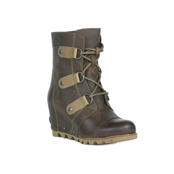 9a557f992fbd Shop Sorel Women s Joan of Arctic Wedge Cold Weather Boots - Free ...