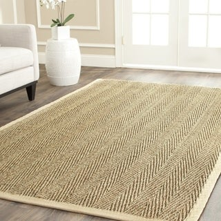 Safavieh Casual Natural Fiber Handmade Assorted Seagrass Rug - 11' x 15'