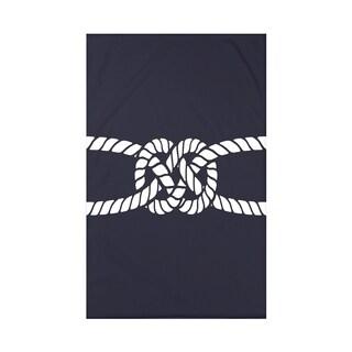 Carrick Bend Geometric Print 50 x 60-inch Throw Blanket