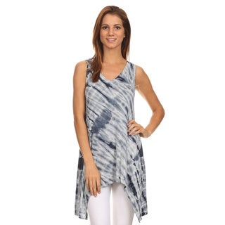 MOA Collection Women's Regular & Plus Size Tie Dye Print