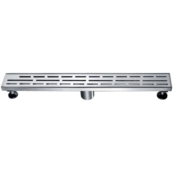 dawn amazon river series 24inch linear shower drain