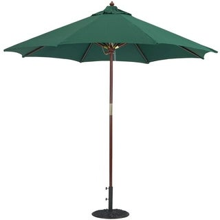 Charmant Tropishade 9 Foot Premium Green Olefin Umbrella