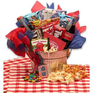 Link to Gift Basket Drop Shipping Blockbuster Night Movie Pail with 10.00 Redbox Gift Card Similar Items in Gourmet Food Baskets