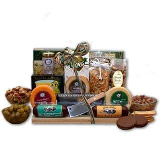 Teen boy gift baskets store for less overstock ultimate gourmet nut and sausage board negle Gallery