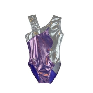 Kids' Angie Lilac Gymnastics Leotard