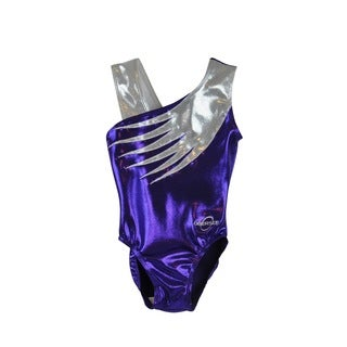 Obersee Kid's Purple Feather Gymnastics Leotard