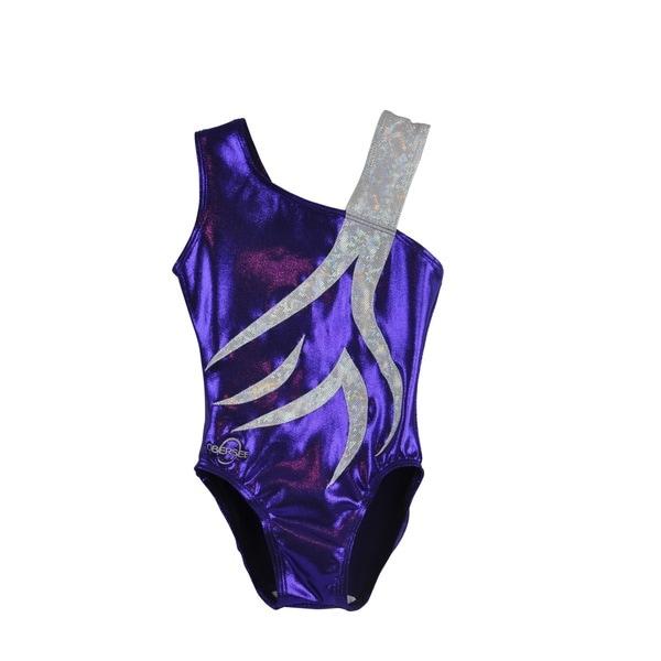 71825545b080 Shop Obersee Girl's Girls Gymnastics Leotard - Spin Purple - On Sale ...