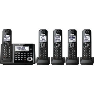 Panasonic KX-TGF345B DECT 6.0 Plus Cordless Landline Phone System (Refurbished)