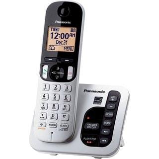 Panasonic KX-TGC220S DECT 6.0 Plus Cordless Landline Phone System (Refurbished)