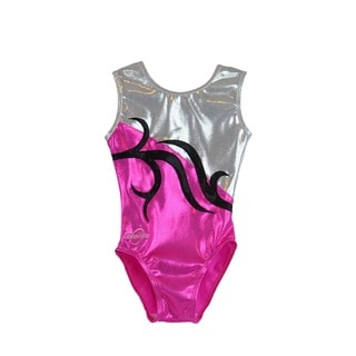 Kids' Carrie Pink Gymnastics Leotard