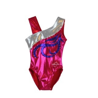 Kids' Energy Fuchsia Gymnastics Leotard