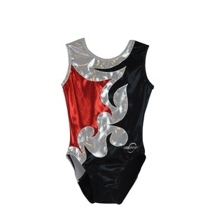 Kids' Mia Red Gymnastics Leotard