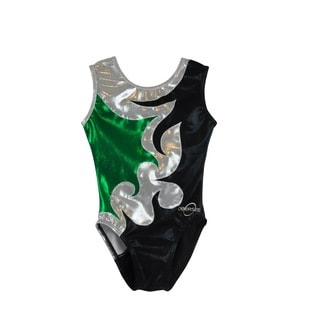 Kids' Mia Green Gymnastics Leotard
